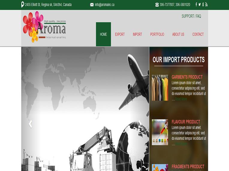 Aroma International Inc